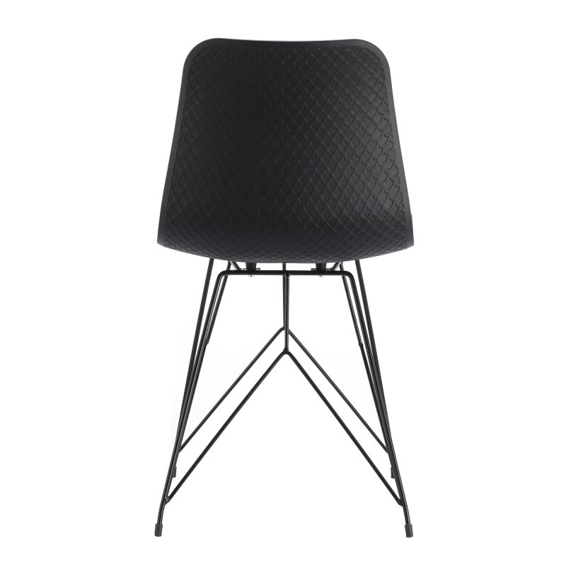 Moe's Home Collection Esterno Outdoor Chair Black - Set of 2 (QX-1002-02)