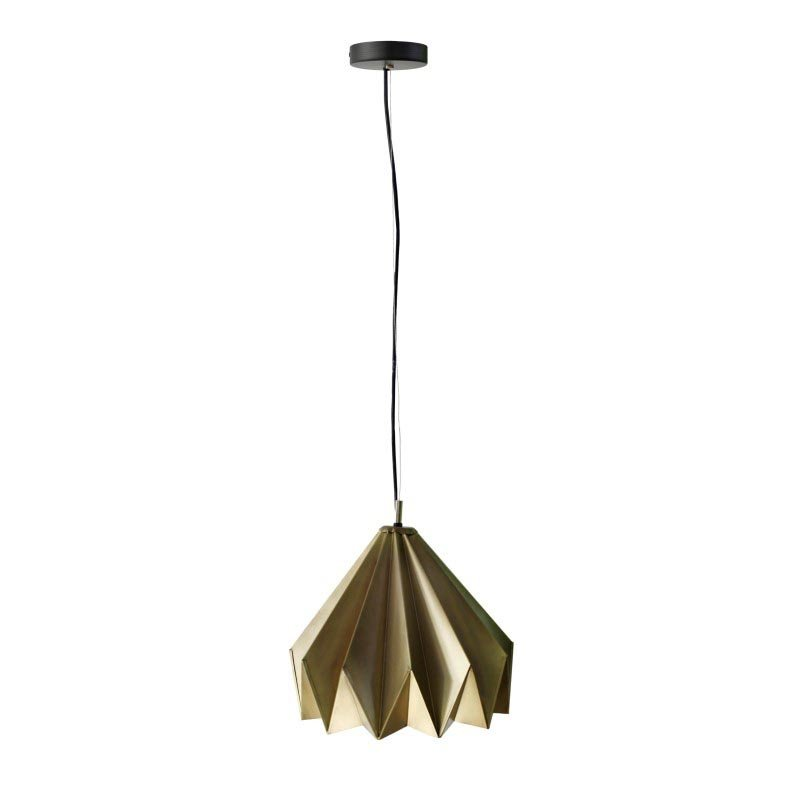 Moe's Home Collection Fausto Pendant Lamp in Gold (FD-1004-32)
