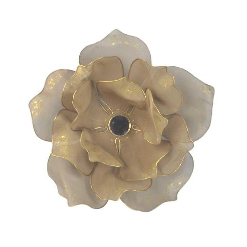 Moe's Home Collection Flower Wall Decor Gold (MH-1064-32)