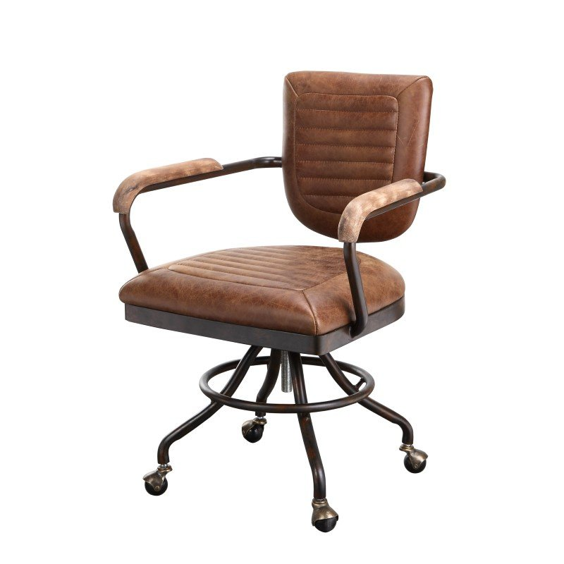 Moe's Home Collection Foster Desk Chair in Soft Brown (PK-1049-21)