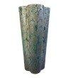 Moe's Home Collection Galena Vase in Dark Blue (YU-1026-19)