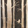 Moe's Home Collection Golden Trees Wall Decor (RX-1018-37)