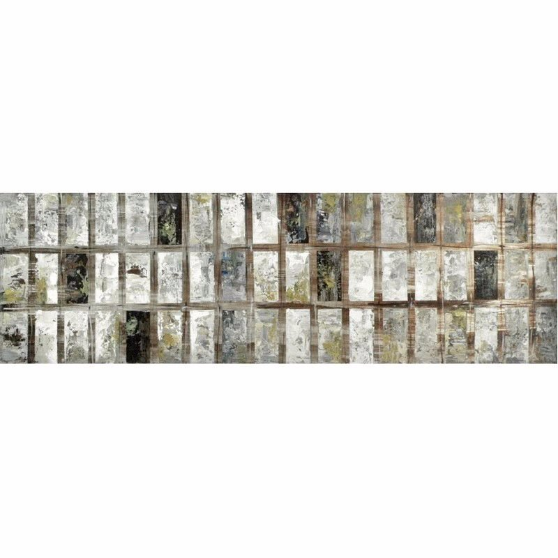 Moe's Home Collection Grey Block Wall Decor (FX-1091-37)