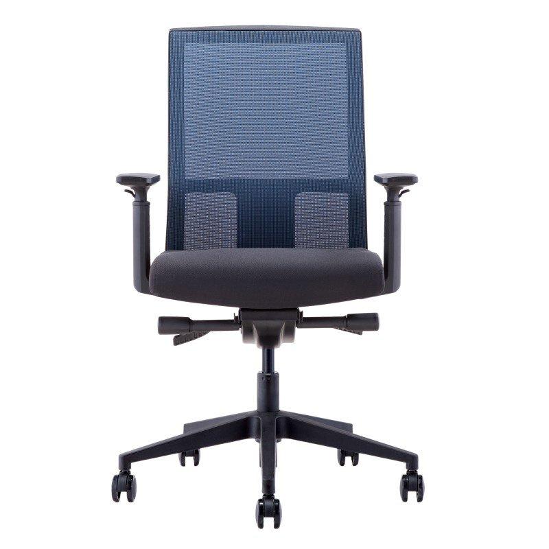 Moe's Home Collection Halpert Office Chair in Black Mesh (ZM-1012-41)