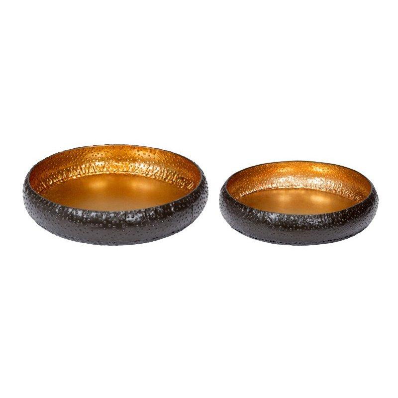 Moe's Home Collection Hammered Bowls - Set of 2 (HW-1024-31)