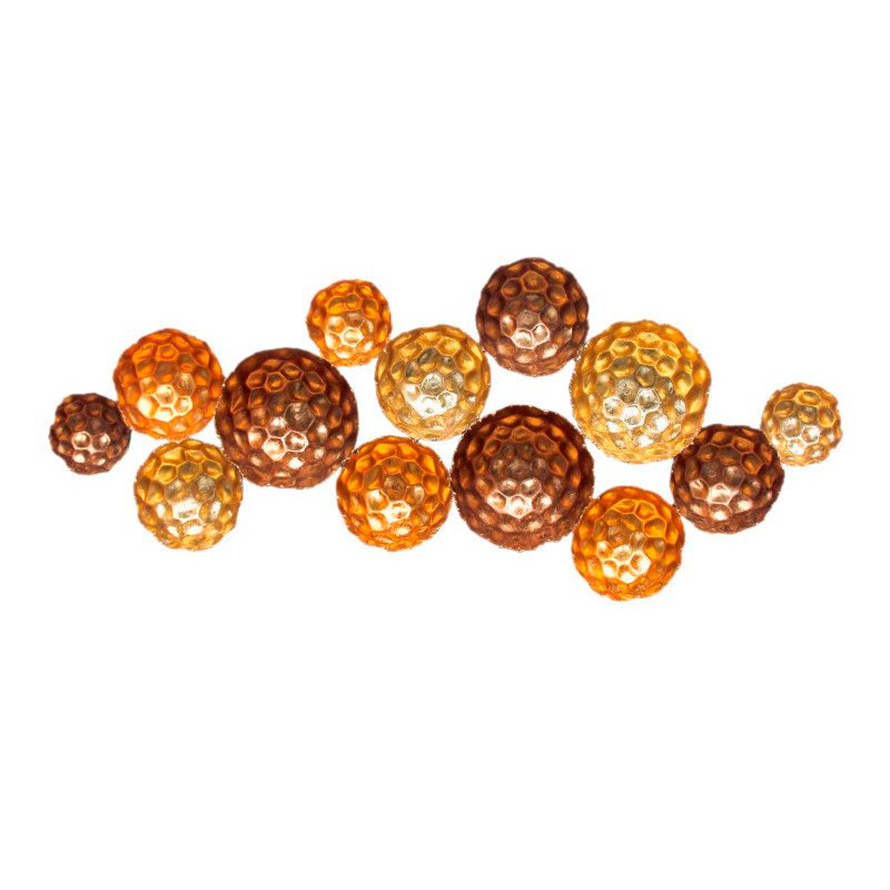 Moe's Home Collection Hammered Gold Circles (HW-1023-31)