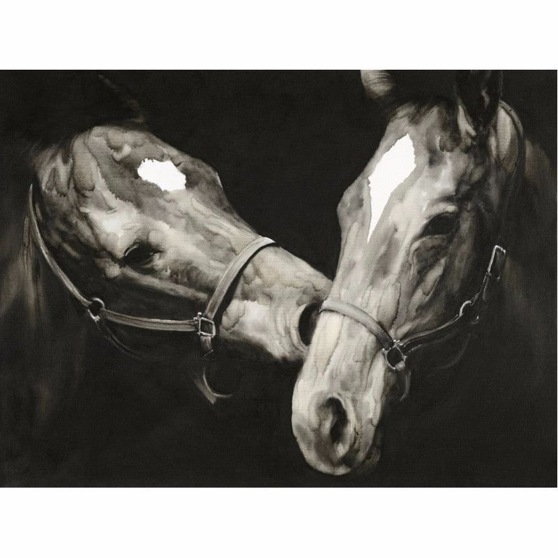 Moe's Home Collection Happy Horses Wall Decor (RE-1131-37)