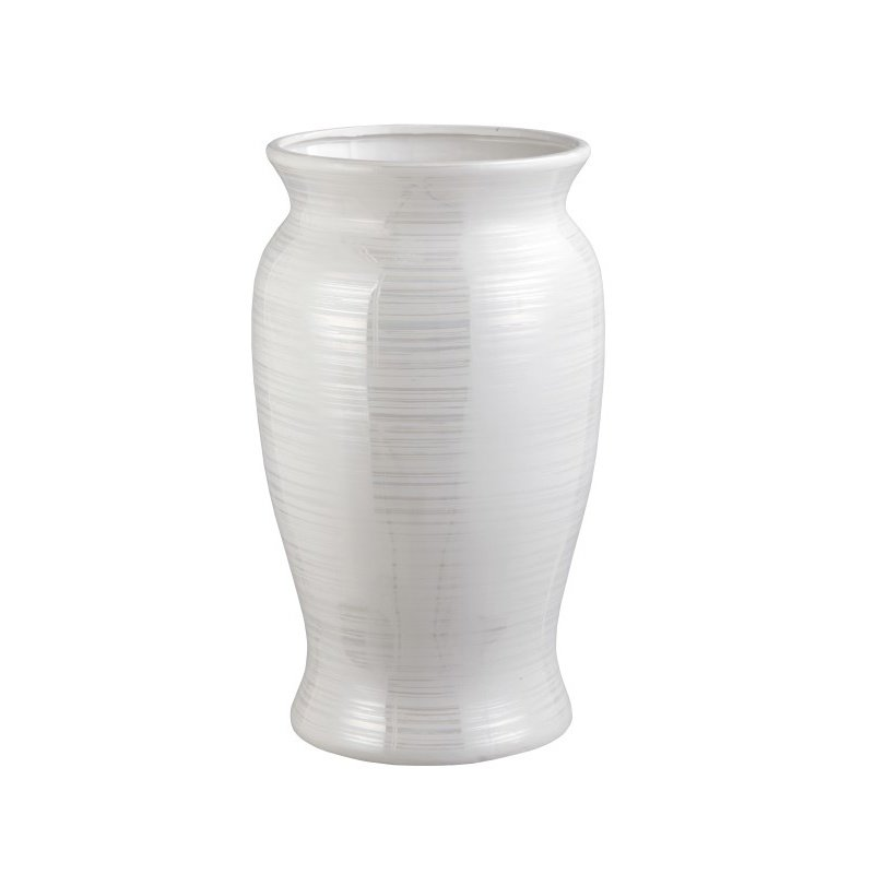 Moe's Home Collection Harmony Vase Pearl in White Small (SJ-1108-18)
