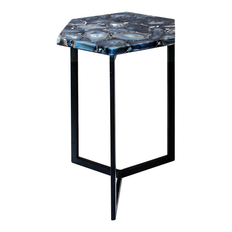 Moe's Home Collection Hexagon Agate Accent Table (PJ-1005-30)