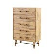 Moe's Home Collection Hudson 5 Drawer Chest (VX-1028-01)