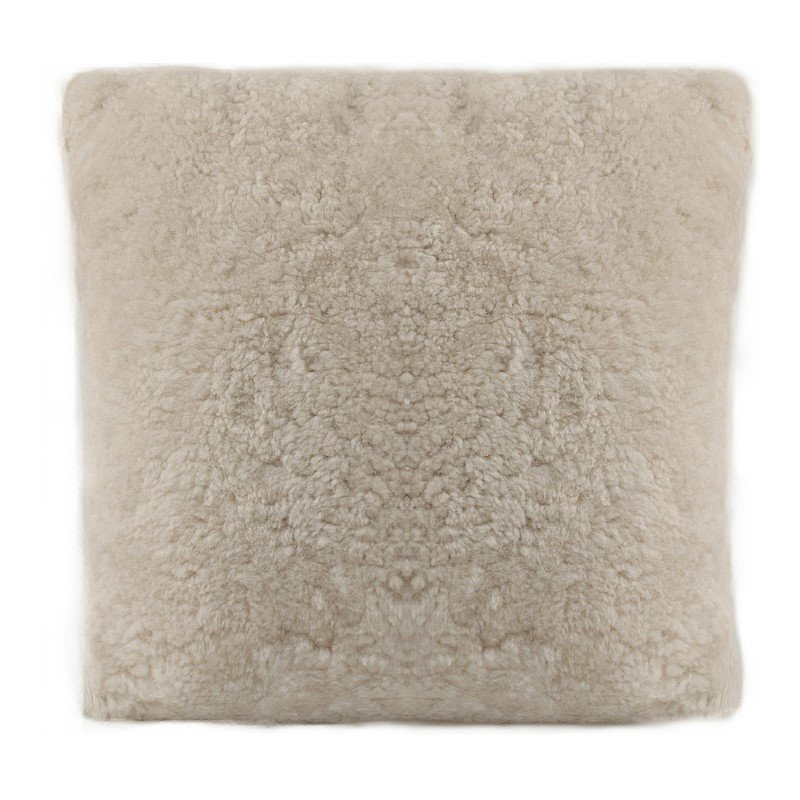 Moe's Home Collection Hunter Wool Pillow in Cream White (XU-1023-05)