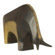Moe's Home Collection Impressionist Donkey Sculpture in Anitque Brass (ZY-1024-51)