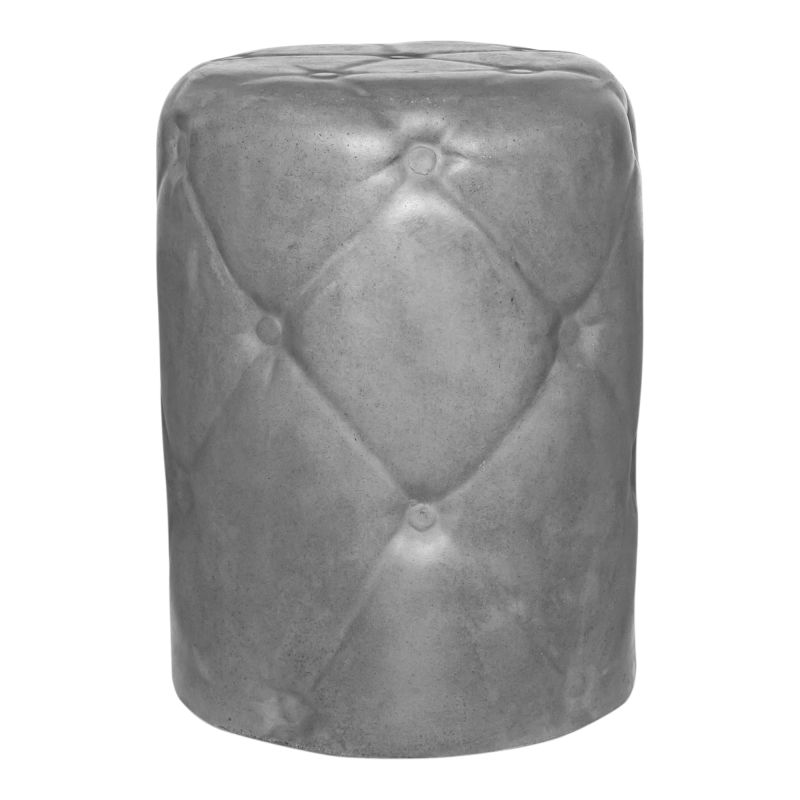 Moe's Home Collection Irony Outdoor Stool Grey (BQ-1043-25)