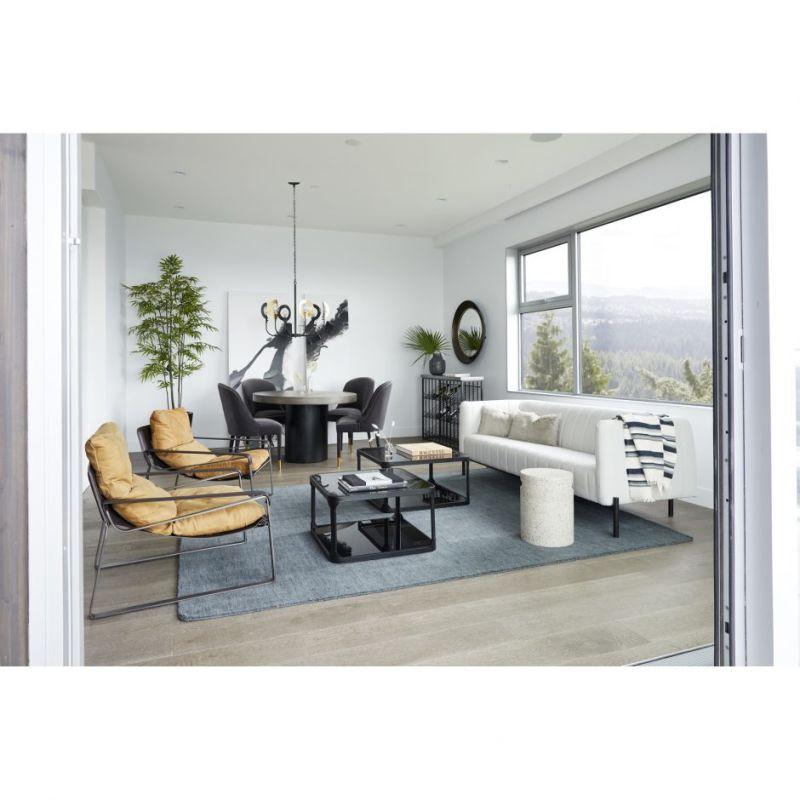 Moe's Home Collection Jaxon Sofa Light Grey (VV-1002-29)