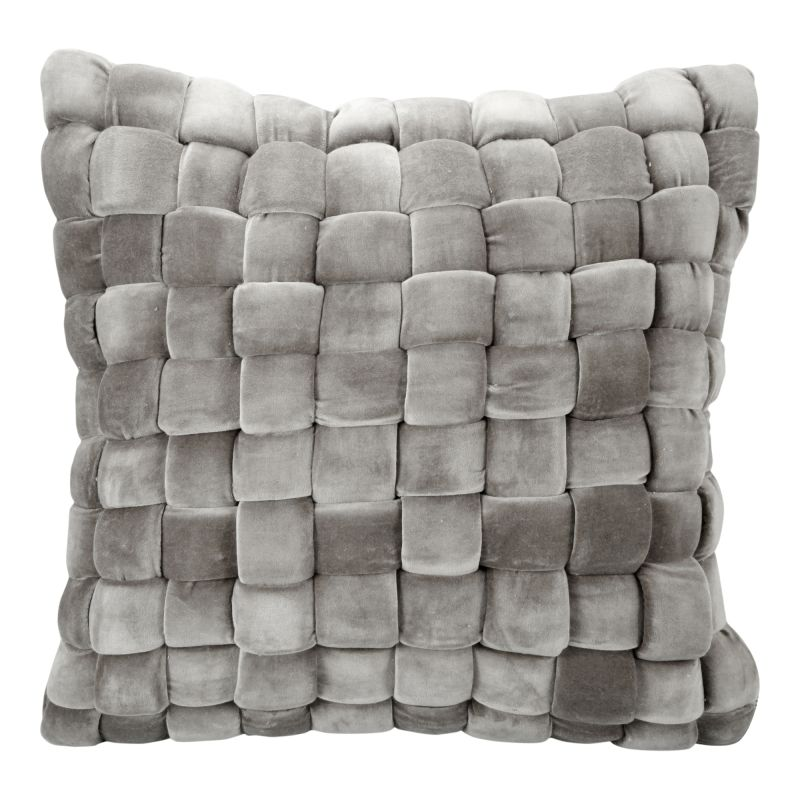 Moe's Home Collection Jazzy Pillow Charcoal (LK-1006-07)