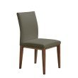 Moe's Home Collection Kingston Dining Chair in Grey - Set of 2 (EQ-1001-15)