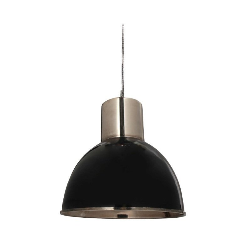 Moe's Home Collection Leon Pendant Lamp in Black (IP-1000-02)