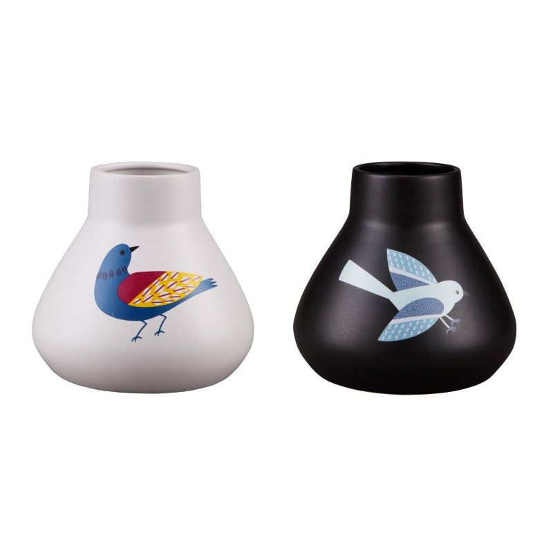 Moe's Home Collection Little Birds Vases - Set of 2 (CH-1077-37)