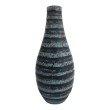 Moe's Home Collection Littleton Vase in Black (YU-1022-02)