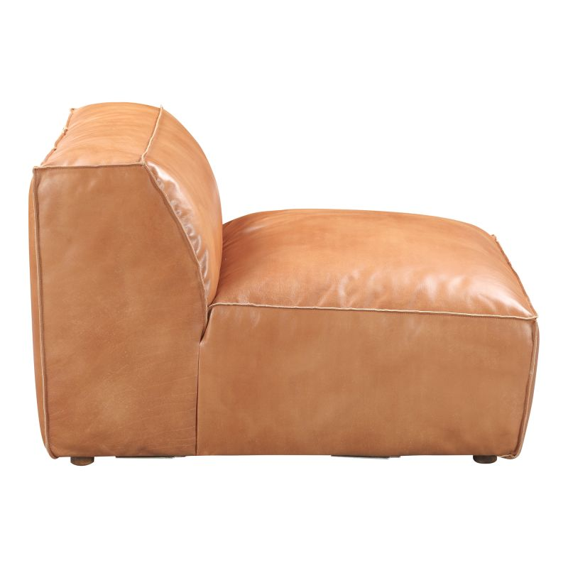 Moe's Home Collection Luxe Slipper Chair Tan (QN-1019-40)
