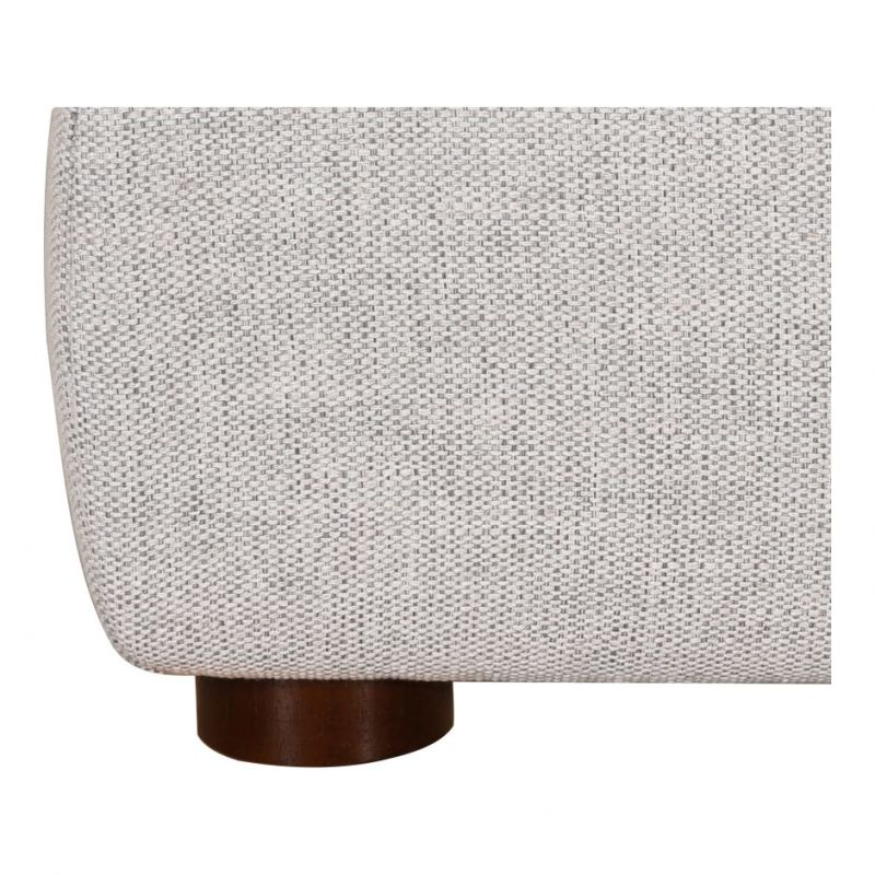 Moe's Home Collection Luzon King Bed Light Grey (RN-1130-40)