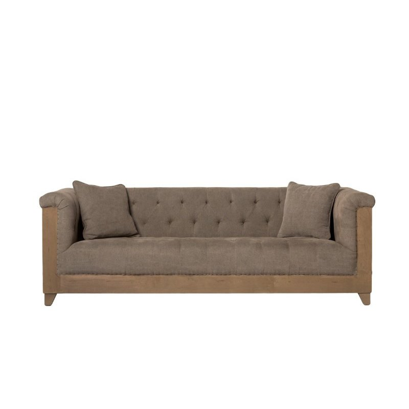 Moe's Home Collection Marseille Sofa in Grey (SX-1007-25)