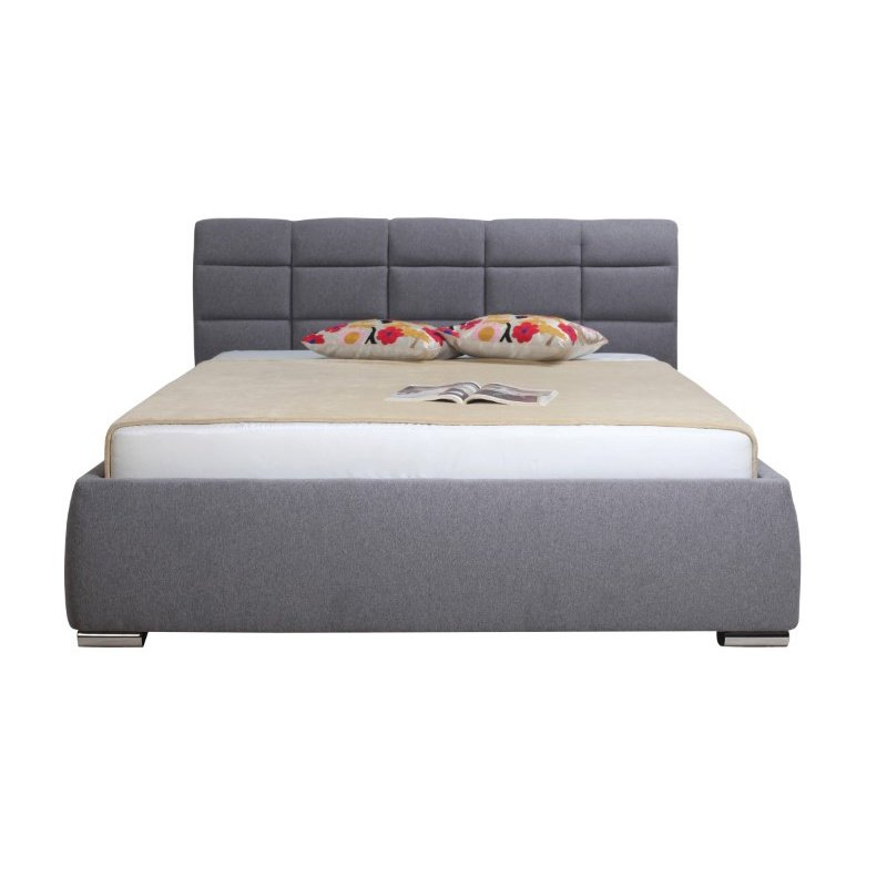 Moe's Home Collection Maxine 4-Drawer King Bed in Grey (RN-1014-25)
