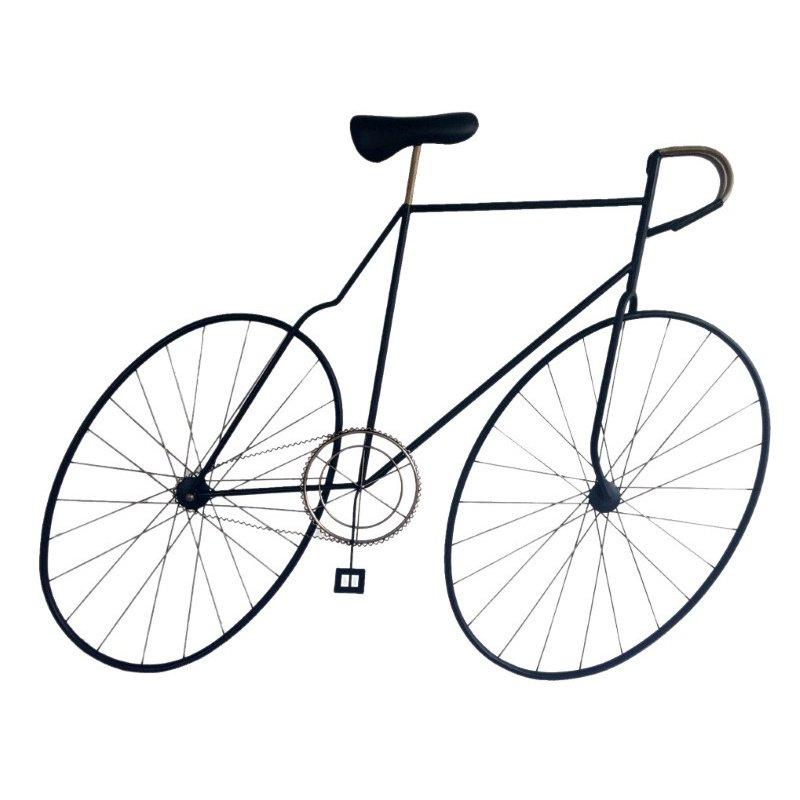 Moe's Home Collection Mcmillan Bicycle Wall Art Black (MQ-1001-03)