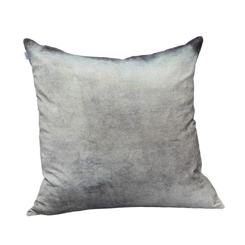 Moe's Home Collection Mist Velvet Cushion with Feather Insert (TS-1001-37)