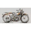 Moe's Home Collection Motorbike Wall Decor (RE-1173-37)