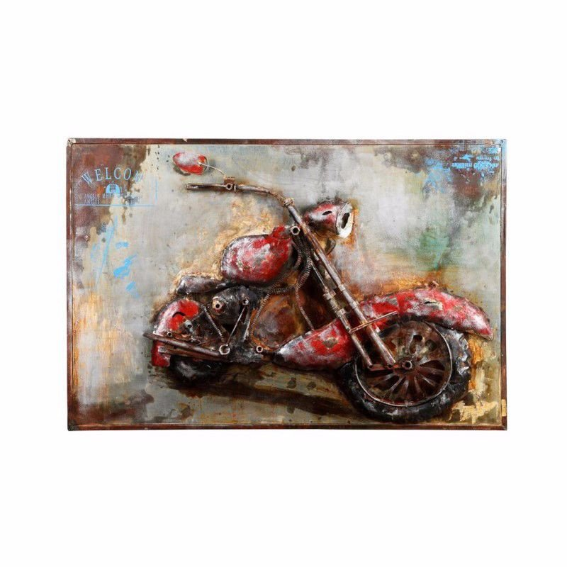 Moe's Home Collection Motorcycle Mania Wall Decor (ZG-1040-37)