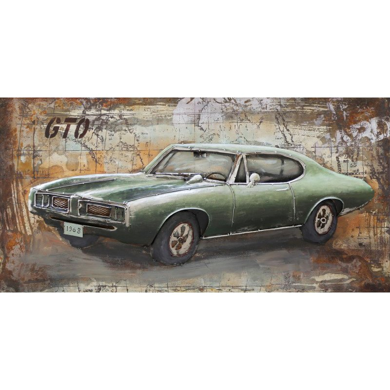 Moe's Home Collection Muscle Car Wall Art (FS-1010-37)