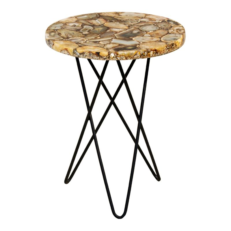 Moe's Home Collection Natura Agate Accent Table (PJ-1001-24)