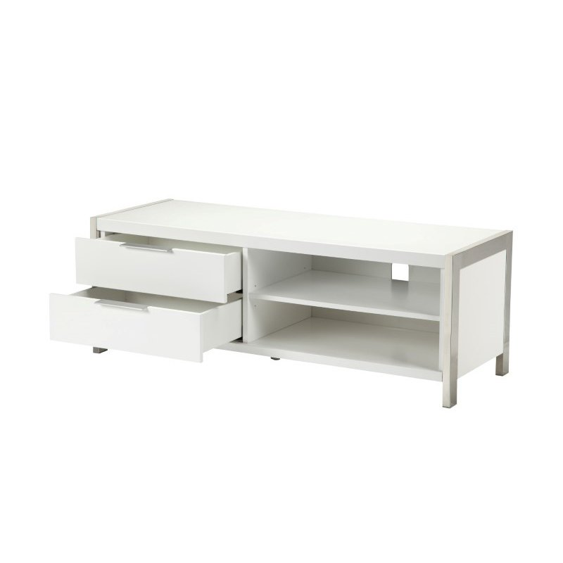 Moe's Home Collection Neo TV Stand in White Small (ER-2011-50)