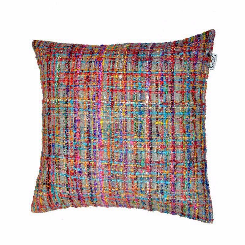 Moe's Home Collection Niche Cushion Multi with Feather Insert (IE-1032-37)
