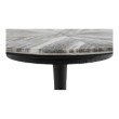 Moe's Home Collection Nyles Marble Accent Table in Multi (GK-1006-37)