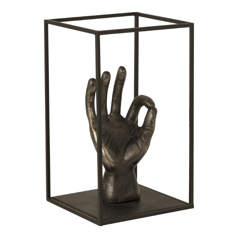 Moe's Home Collection Ok Sculpture in Antique Nickel (ZY-1026-54)