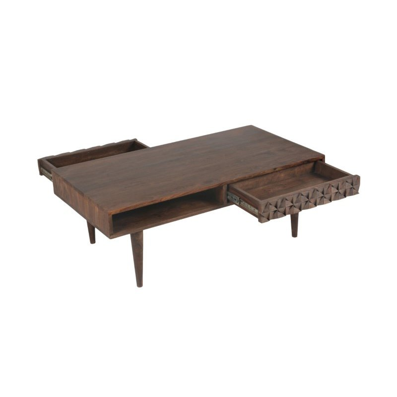 Moe's Home Collection Pablo 2 Drawer Coffee Table (BZ-1041-03)