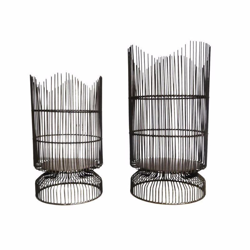 Moe's Home Collection Palisade Candleholder - Set of 2 (MX-1003-32)