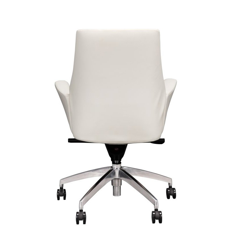 Moe's Home Collection Parker Low Back Office Chair in White (EJ-1021-51)