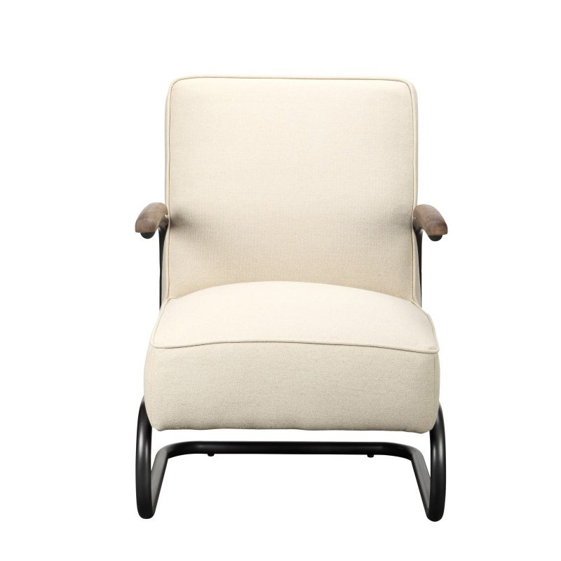 Moe's Home Collection Perth Club Chair in Beige Fabric (PK-1022-05)