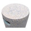 Moe's Home Collection Pillar Cement Stool in Light Grey (VZ-1001-29)