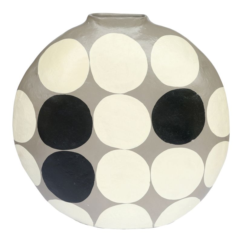 Moe's Home Collection Polka Dot Vase Round (DD-1020-15)