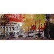 Moe's Home Collection Red Street Wall Decor (RX-1009-37)