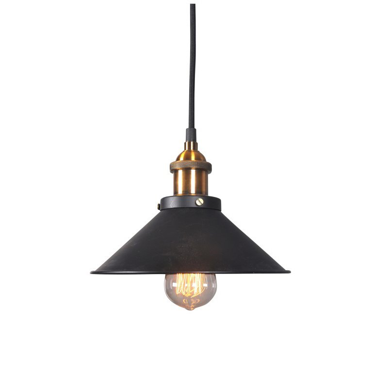 Moe's Home Collection Renata Pendant Lamp in Black (RM-1000-02)