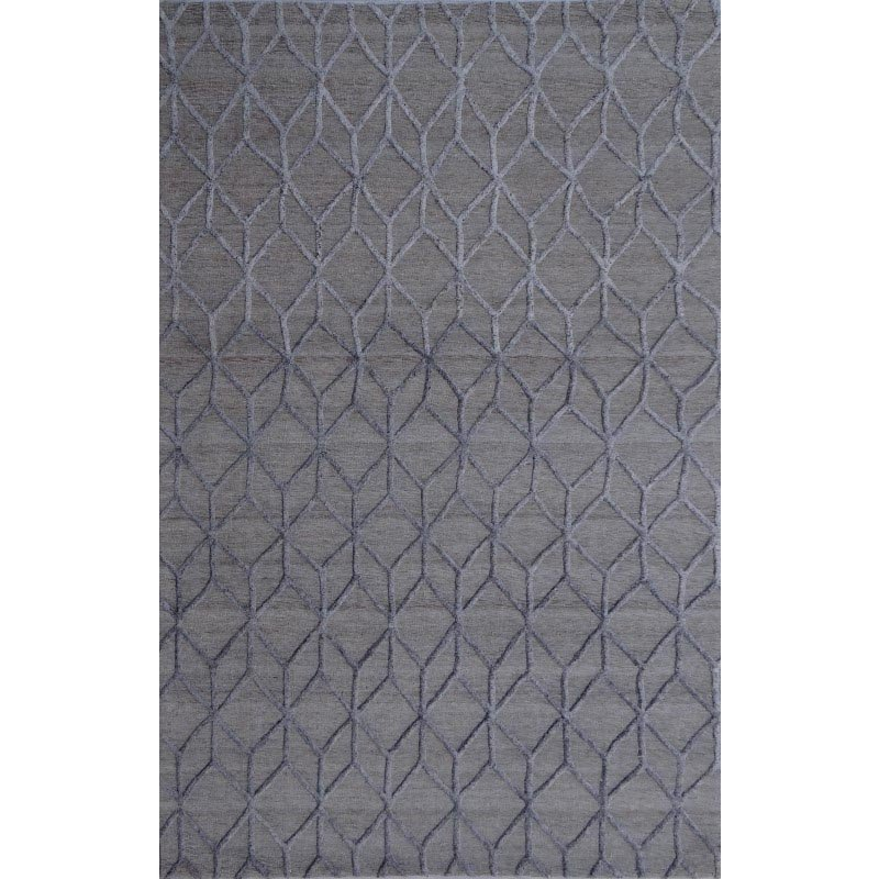 Moe's Home Collection Rhumba 8X10 Rug in Cadet Grey (JH-1010-25)