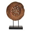 Moe's Home Collection Round Mango Wood Scultpure in Natural (XR-1001-24)
