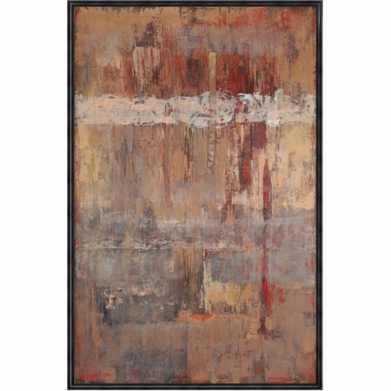 Moe's Home Collection Russet Wall Decor with Frame (RE-1139-37)