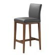Moe's Home Collection Sabina Counter Stool in Grey (EQ-1005-15)