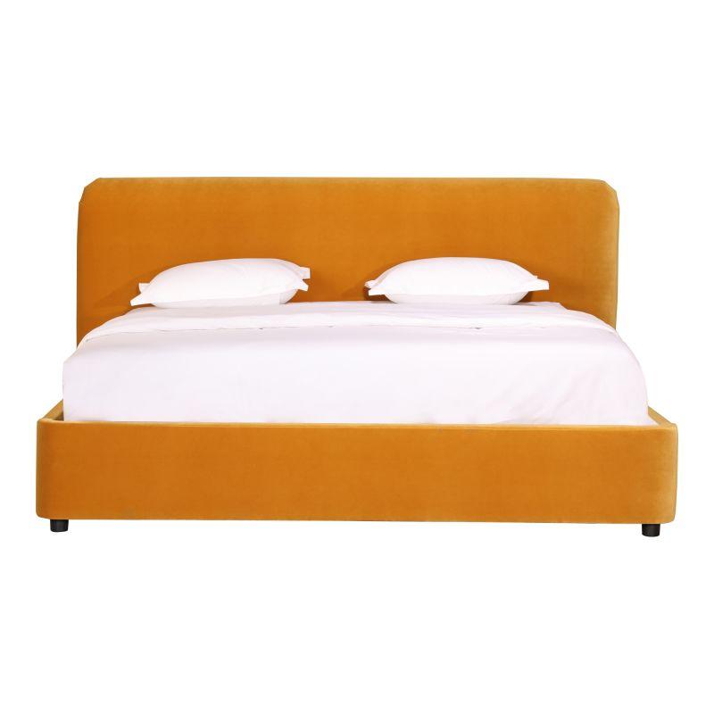 Moe's Home Collection Samara Queen Bed Mustard (RN-1125-09)